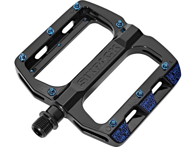 Sixpack Menace Pedals schwarz/blau